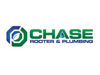 Chase Rooter & Plumbing logo design