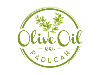 Paducah Olive Oil Co. logo design