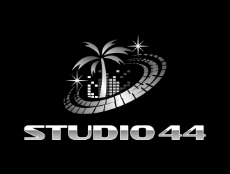 Studio 44 logo design
