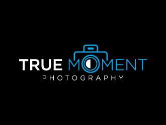 True Moment Photography logo design