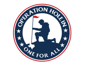 Operation Hole in One for all logo design