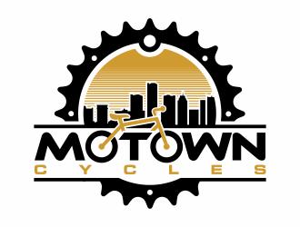Motown Cycles logo design