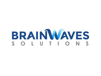 Brainwaves logo design