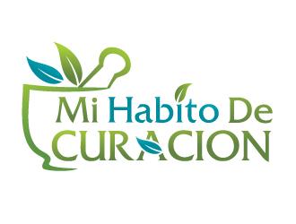 Mi Habito de Curacion logo design