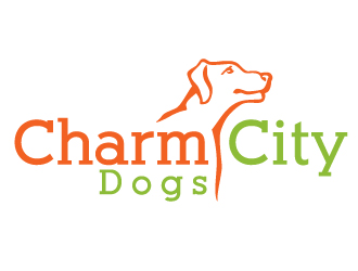 Charm City Dogs logo design