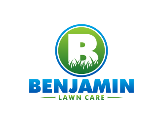 Benjamin Lawn Care logo design