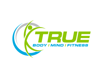 True Body/Mind/Fitness logo design