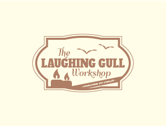 The Laughing Gull Workshop logo design