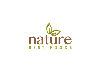 Nature Best Foods logo design