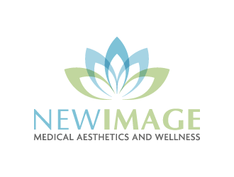 New Image Medical Aesthetics and Wellness logo design
