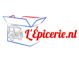 L'Épicerie.nl logo design