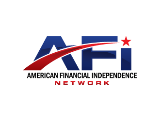 AFI Network ( American Financial Independence Network ) logo design