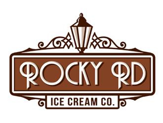 Rocky Rd logo design