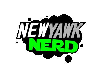 NewYawkNerd logo design