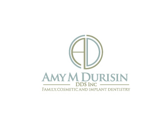 Amy M Durisin DDS Inc logo design
