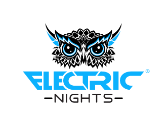 ELECTRIC NIGHTS logo design