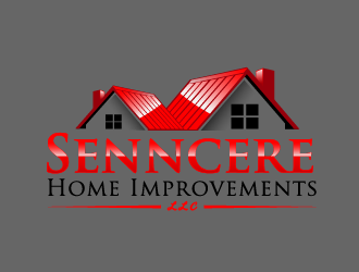 Senncere Home Improvements llc logo design