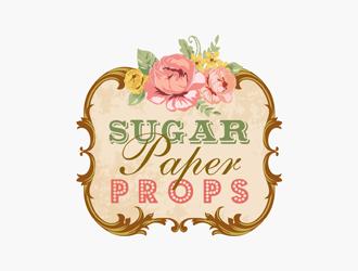 sugar paper props logo design 48hourslogocom