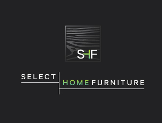 SELECT HOME FURNITURE logo design