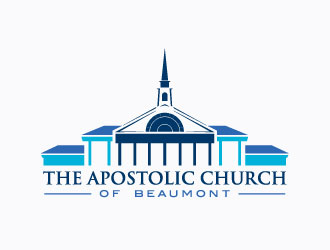 The Apostolic Church of Beaumont logo design