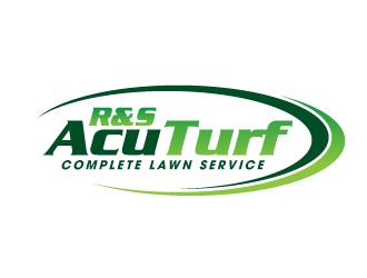 R&S AcuTurf logo design