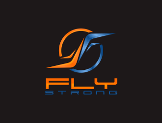 Fly Strong logo design