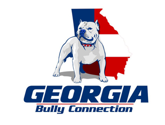 Georgia Bully Connection logo design - 48HoursLogo com