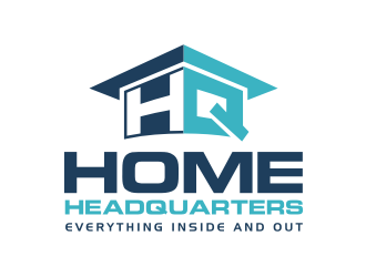 HOME HEADQUARTERS logo design