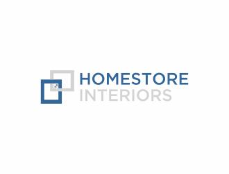 Homestore Interiors logo design