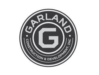 Garland Construction and Development, Inc logo design