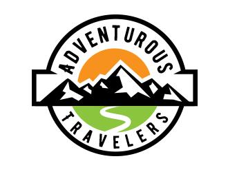 Adventurous Travelers logo design