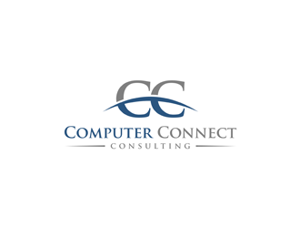 Computer Connect logo design