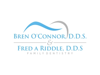 O'Connor & Riddle Family Dentistry logo design
