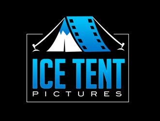 Ice Tent Pictures logo design