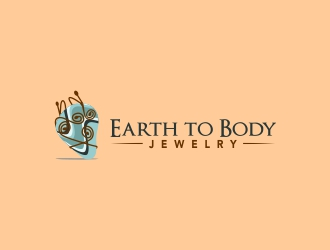 Earth to Body Jewelry logo design