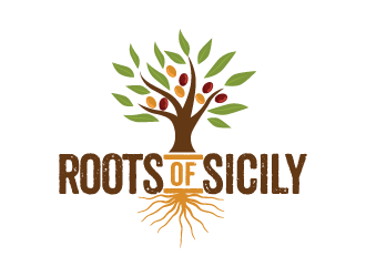 Roots of Sicily logo design