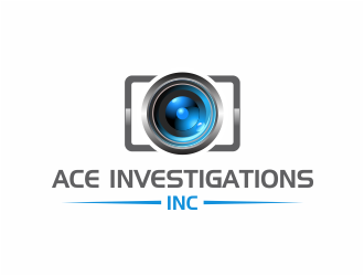 Ace Investigations, Inc. logo design