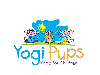 Yogi Pups logo design