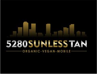 5280 Sunless Tan logo design