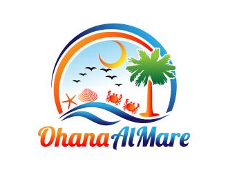 Ohana Al Mare logo design