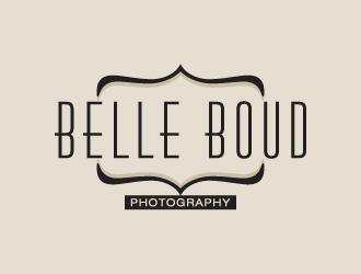 Belle Boud Photography logo design