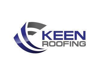 keen roofing logo design 48hourslogocom