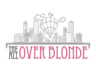 The All Over Blonde logo design
