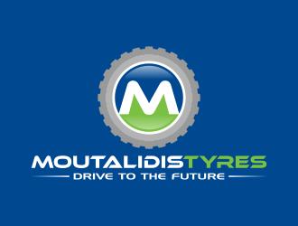 MOUTALIDIS logo design