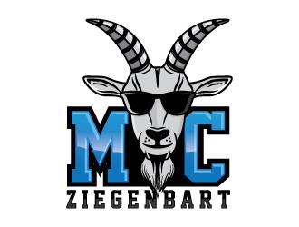 MC Ziegenbart logo design