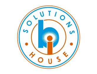 BI Solutions House logo design