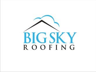 Big Sky Roofing logo design