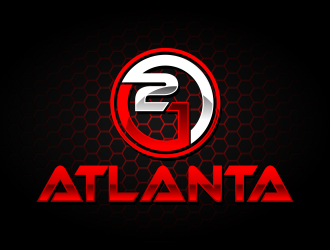 21 Atlanta logo design