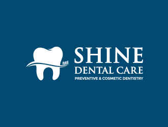 SHINE DENTAL CARE (PREVENTIVE & COSMETIC DENTISTRY) logo design