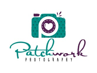 Patchwork Photography logo design